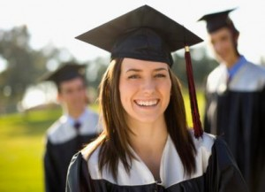pic of smiling grad - help with student debt - Student Loan Consultant