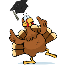 Turkey Grad Hat Student Loan Debt Guidance